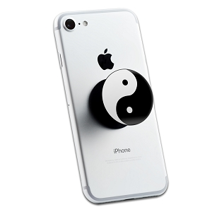 Yin Yang Peace Symbol 2 Sticker Set for Pop Grip Stent for Phones and Tablets (Stickers Only)