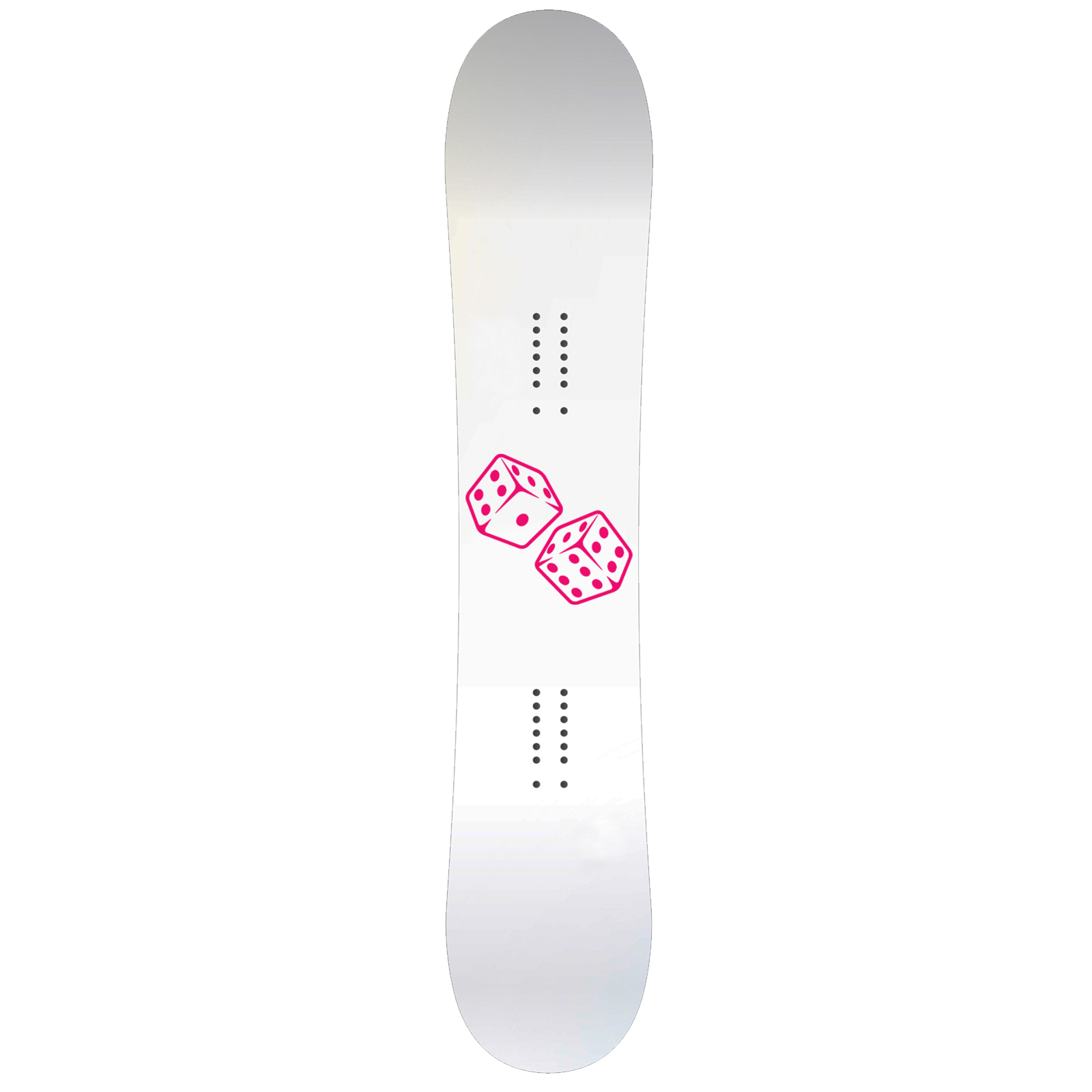 Rolling Dice Snowboard Sticker All Weather Vinyl Decal