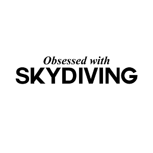 Obsessed with Skydiving Sports Vinyl Decal