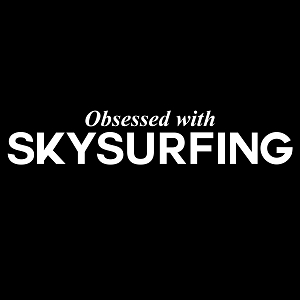Obsessed with Skysurfing Sports Vinyl Decal