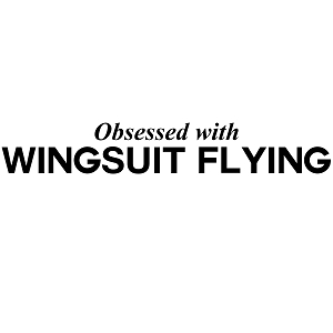 Obsessed with Wingsuit Flying Sports Vinyl Decal