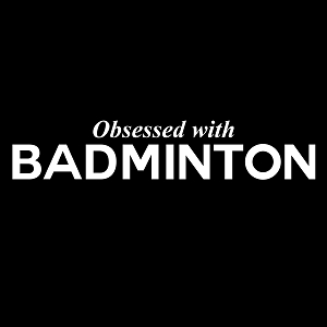 Obsessed with Badminton Sports Vinyl Decal