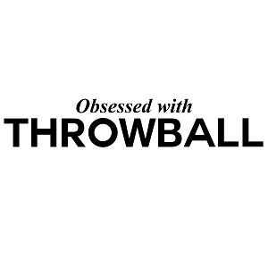 Obsessed with Throwball Sports Vinyl Decal