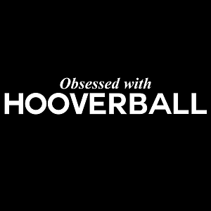 Obsessed with Hooverball Sports Vinyl Decal