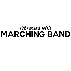 Obsessed with Marching Band Sports Vinyl Decal
