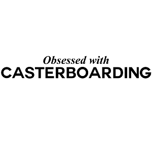 Obsessed with Casterboarding Sports Vinyl Decal
