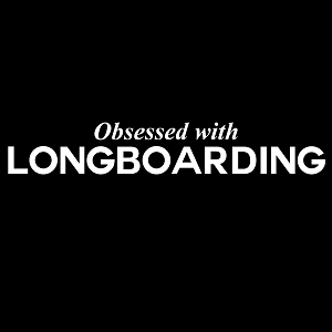 Obsessed with Longboarding Sports Vinyl Decal