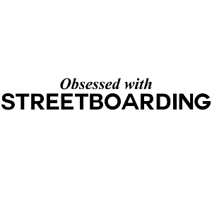 Obsessed with Streetboarding Sports Vinyl Decal