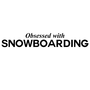 Obsessed with Snowboarding Sports Vinyl Decal