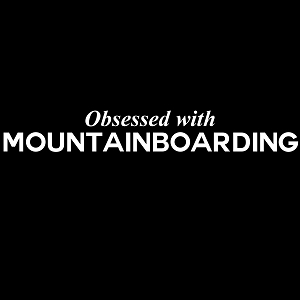 Obsessed with Mountainboarding Sports Vinyl Decal