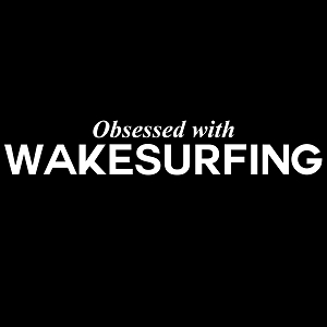 Obsessed with Wakesurfing Sports Vinyl Decal
