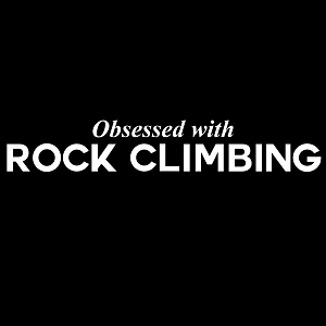 Obsessed with Rock Climbing Sports Vinyl Decal