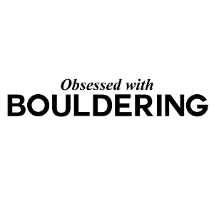 Obsessed with Bouldering Sports Vinyl Decal