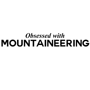 Obsessed with Mountaineering Sports Vinyl Decal