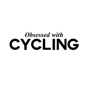 Obsessed with Cycling Sports Vinyl Decal