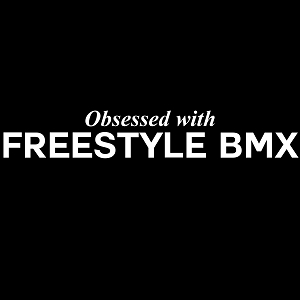 Obsessed with Freestyle BMX Sports Vinyl Decal