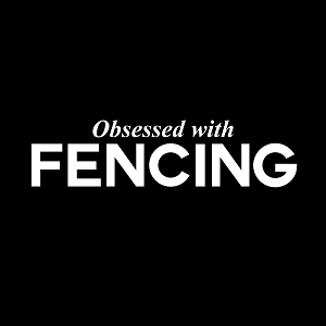Obsessed with Fencing Sports Vinyl Decal