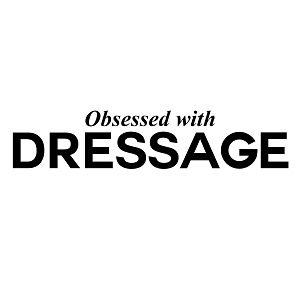 Obsessed with Dressage Sports Vinyl Decal