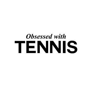 Obsessed with Tennis Sports Vinyl Decal