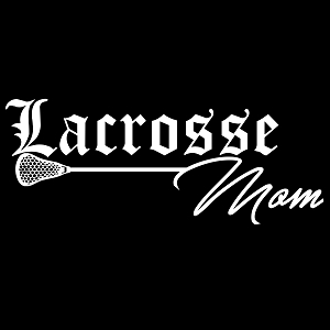 Lacrosse Mom Sports Vinyl Decal