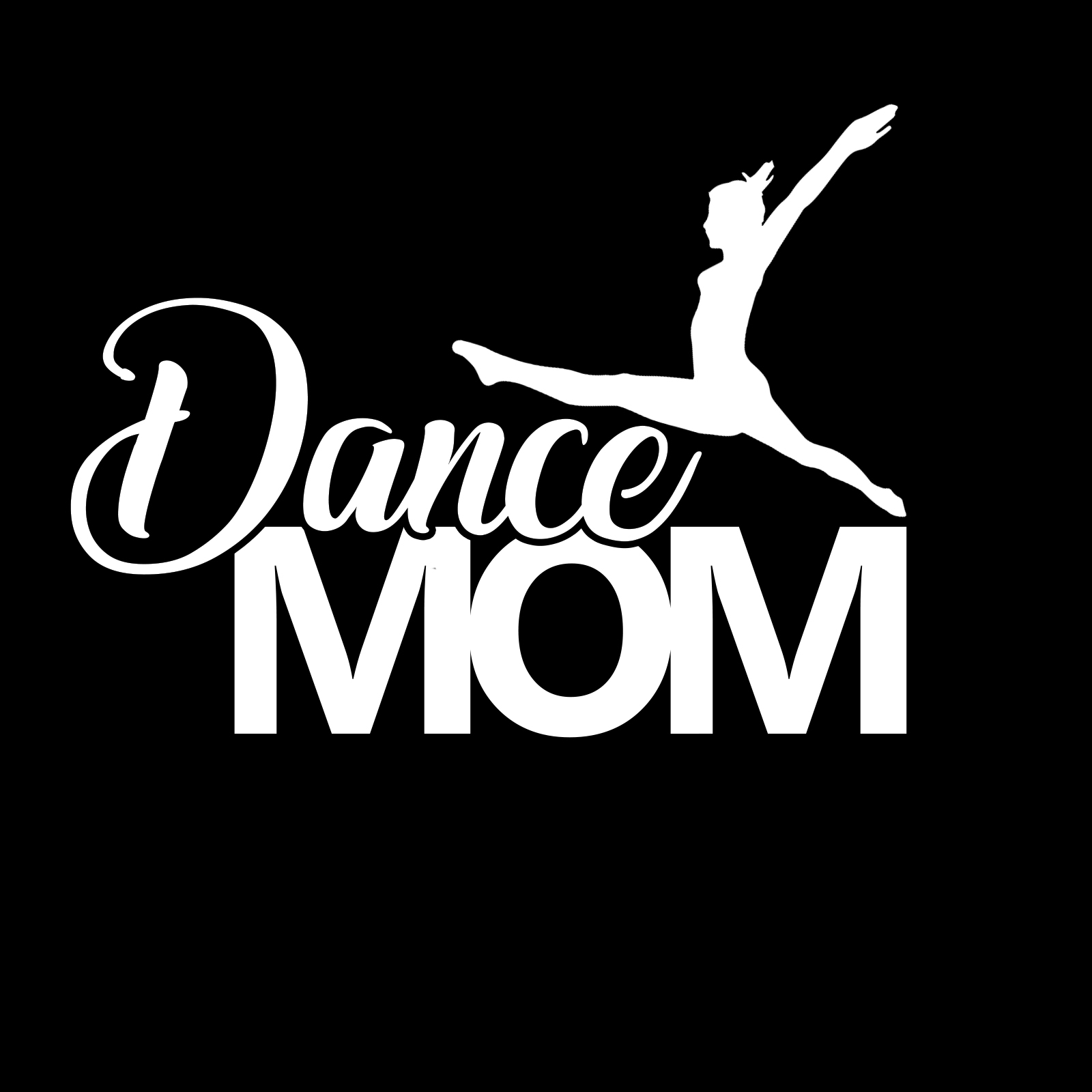 Dance Mom Sports Vinyl Decal
