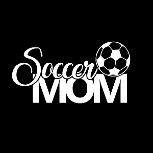 Soccer Mom Sports Vinyl Decal