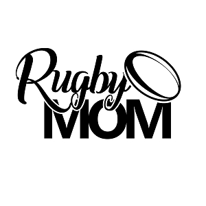 Rugby Mom Sports Vinyl Decal