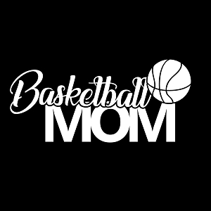 Basketball Mom Sports Vinyl Decal