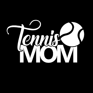 Tennis Mom Sports Vinyl Decal