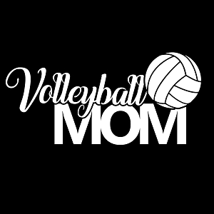 Volleyball Mom Sports Vinyl Decal