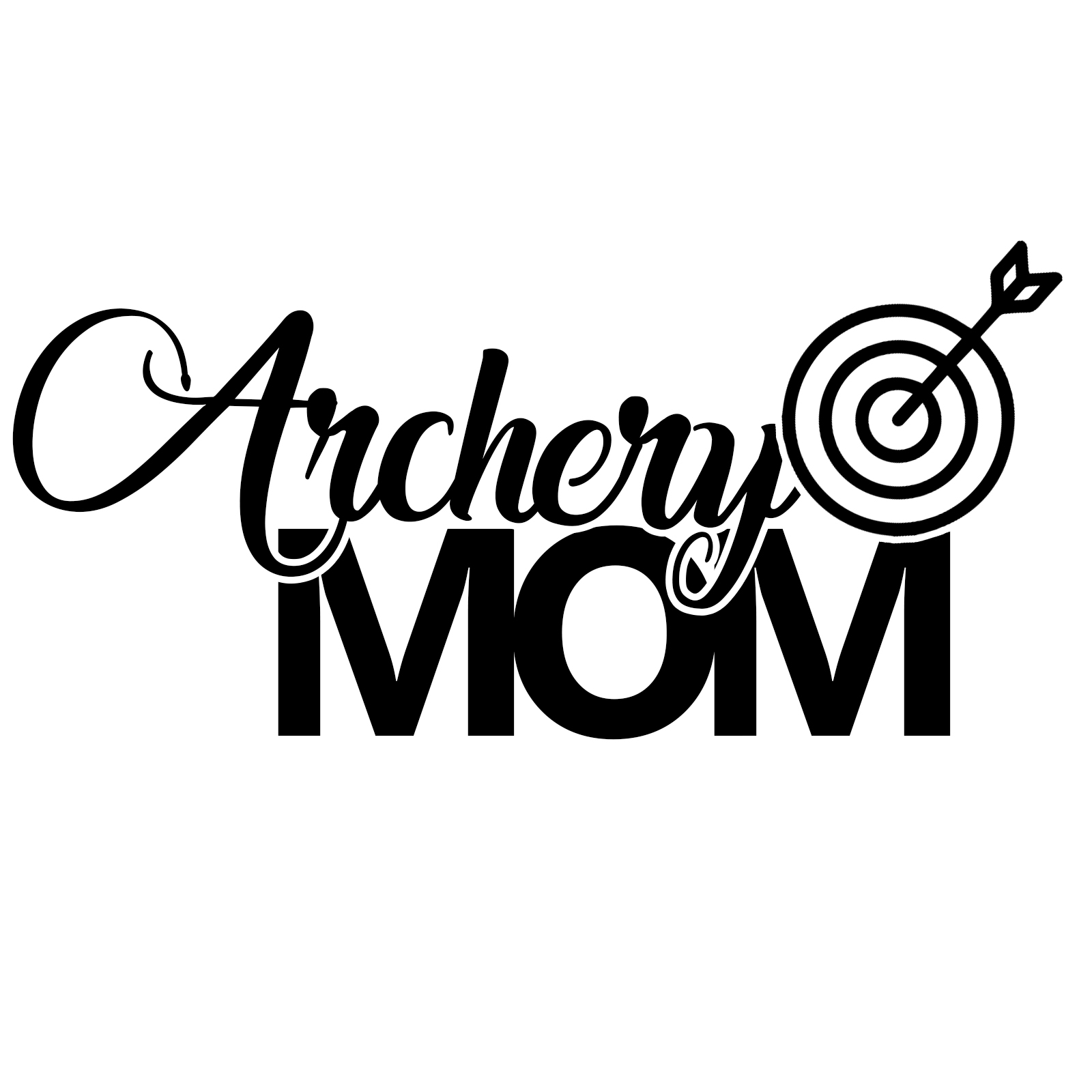 Archery Mom Sports Vinyl Decal