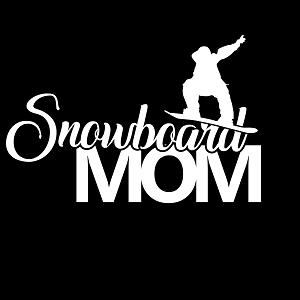 Snowboard Mom Sports Vinyl Decal