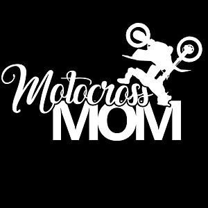 Motocross Mom Sports Vinyl Decal