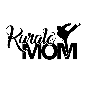 Karate Mom Sports Vinyl Decal