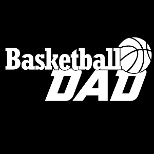 Basketball Dad Sports Vinyl Decal