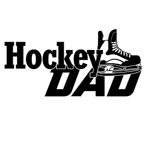 Hockey Dad Sports Vinyl Decal