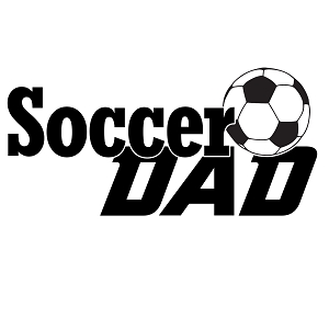 Soccer Dad Sports Vinyl Decal