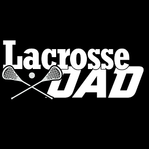 Lacrosse Dad Sports Vinyl Decal