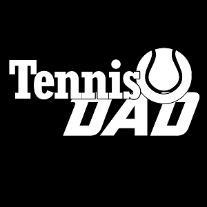 Tennis Dad Sports Vinyl Decal