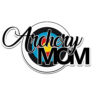 Archery Mom Color Vinyl Sports Car Laptop Sticker - 6