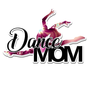 Dance Mom Color Vinyl Sports Car Laptop Sticker - 6
