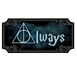 Always Deathly Inspired Hallows Magic Sticker 5