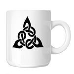 Triangular Celtic Cross Knot 11oz. Novelty Coffee Mug