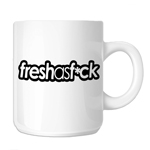 Funny JDM Fresh as F*ck 11oz. Novelty Coffee Mug