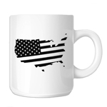 Patriotic USA Country American Flag 11oz. Novelty Coffee Mug