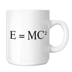 E=MC2 Einstein Math Equation 11oz. Novelty Coffee Mug
