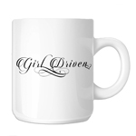 JDM Girl Driven Script 11oz. Novelty Coffee Mug