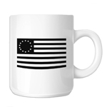 13 Colonies Vintage American Flag 11oz. Novelty Coffee Mug