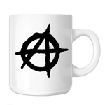 Anarchy Symbol Outline 11oz. Novelty Coffee Mug