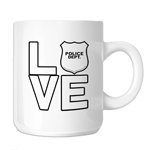 I Love the Police 11oz. Novelty Coffee Mug